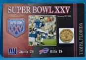 SUPERBOWL FOOTBALL Coin BOWL GAME COIN